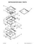 Diagram for 04 - Refrigerator Shelf Parts