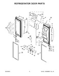 Diagram for 05 - Refrigerator Door Parts