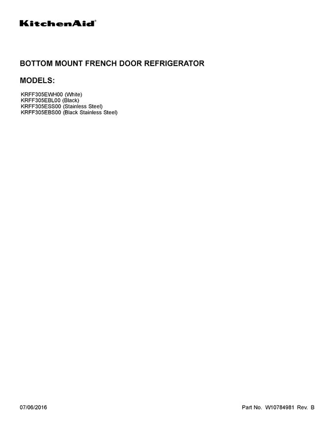 Diagram for KRFF305EBS00